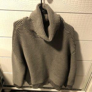 VICI waffle knit turtleneck sweater